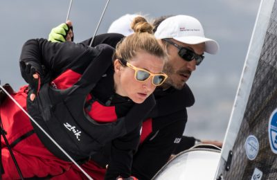 Day 3 Audi tron Sailing Series - Melges 24 Yacht Club Marina di Loano, 3-5 April 2015 ©BPSE/MMelandri