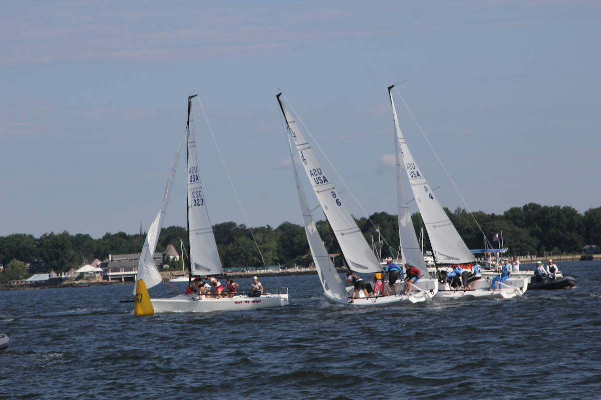 Jibe Set How To Do It Right North Sails