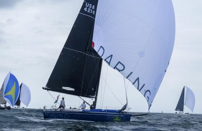 steering with weight downwind