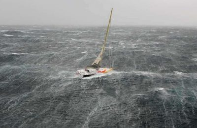 how to sail safely through a storm