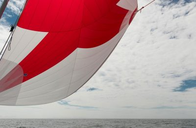how to trim downwind sails