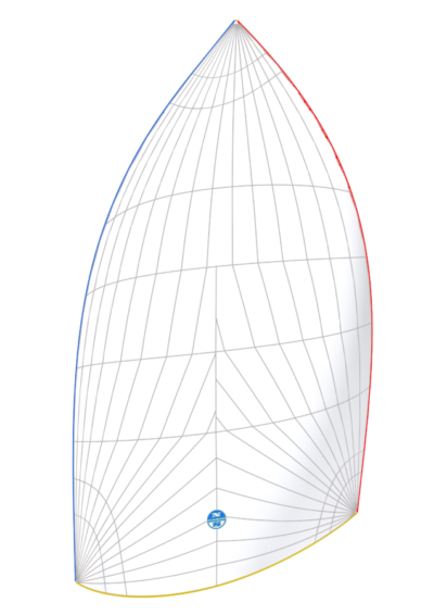 racing-asymmetric-spinnaker-Fractional-Reacher