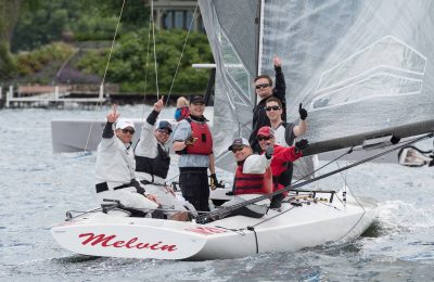 Pat Hughes Wins the A Scow Nationals thumbnail