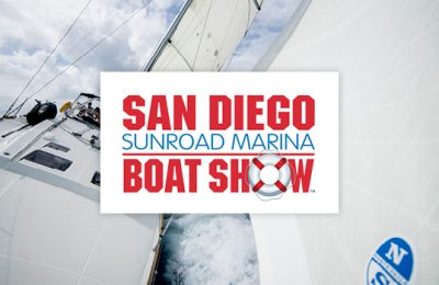 Save On Sails at the San Diego Boat Show. thumbnail