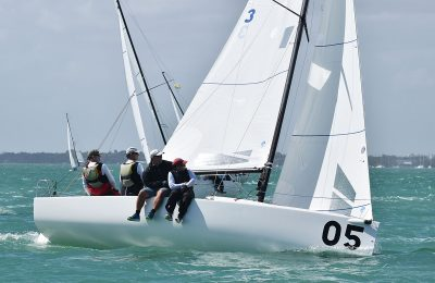 North Powers 1,2 at the J/70 Midwinters thumbnail