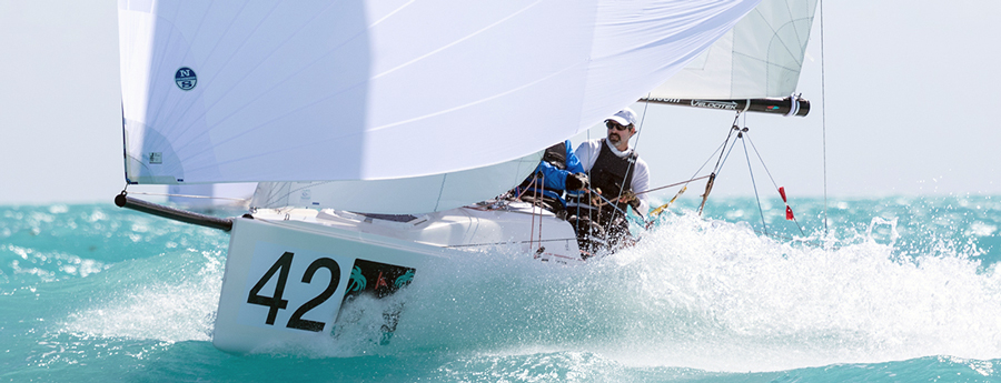 J70 downwind an exciting ride