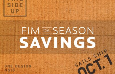 Seasonal Savings nas velas One Design thumbnail