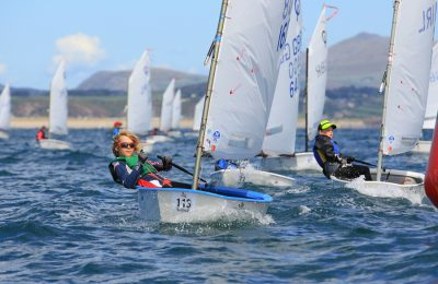 R-2 Optimist Sail Shines Through thumbnail