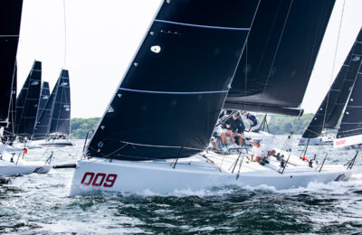 IC 37 Boathandling | North Sails | Melges Performance Sailboats