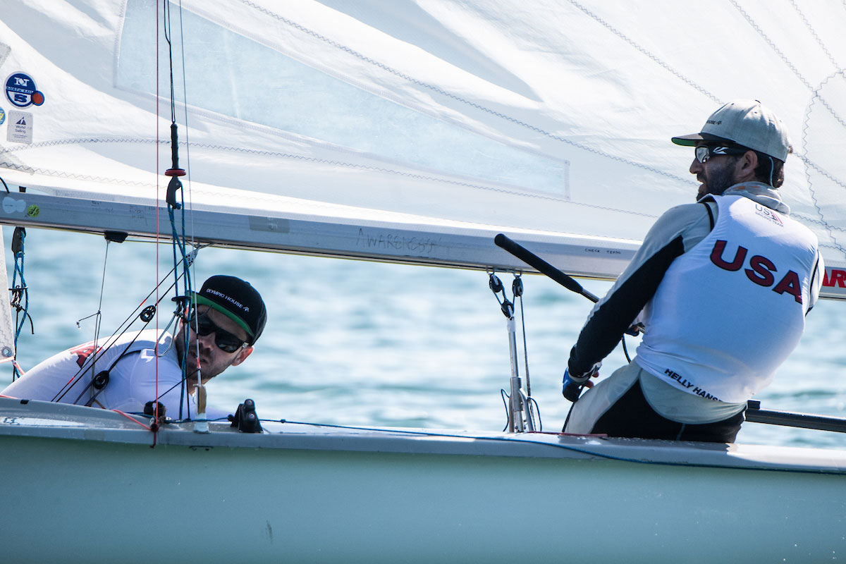 470 speed guide US Sailing Team upwind light air