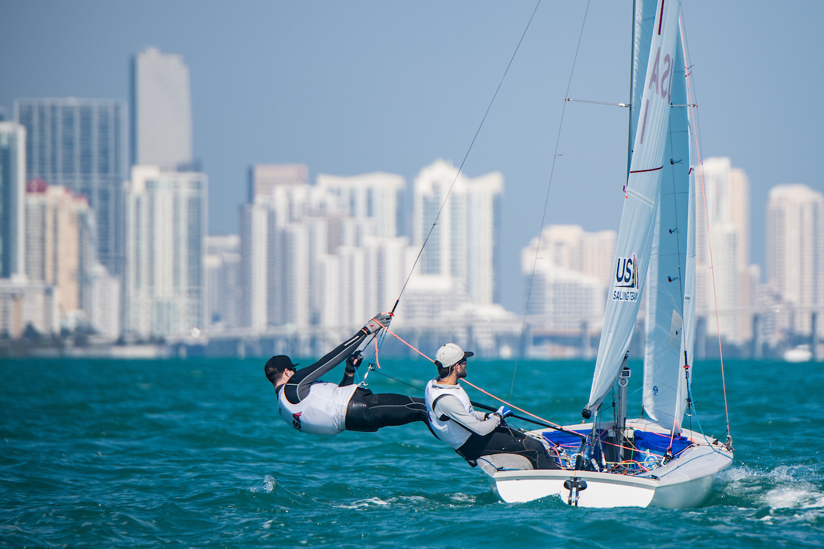 470 Speed Guide By Sîme Fantela upwind sailing Miami