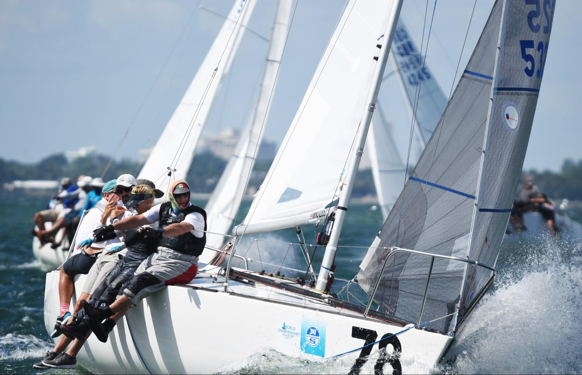 J/24 Worlds: North Sails Experts Takeaway | Photo Chris Howell