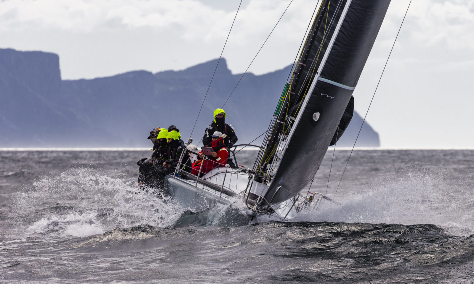sydney hobart 2018 winning the delivery