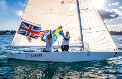 Iain Percy e Ander Ekström vincono la finale Stars Sailor League con vele North Sails thumbnail