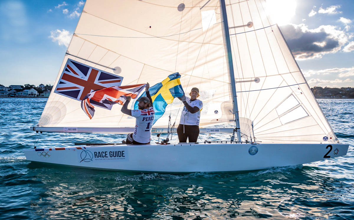 Congratulations to Iain Percy and Ander Ekstrom 📸 Star Sailors League | Giles Morelle