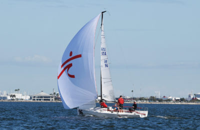 Savasana Shines In J/70 Winter Series Opener thumbnail