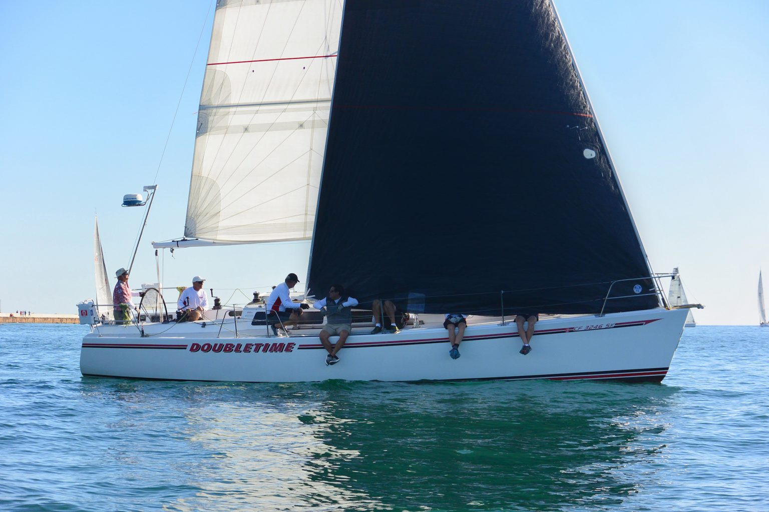 best club racing sail shape