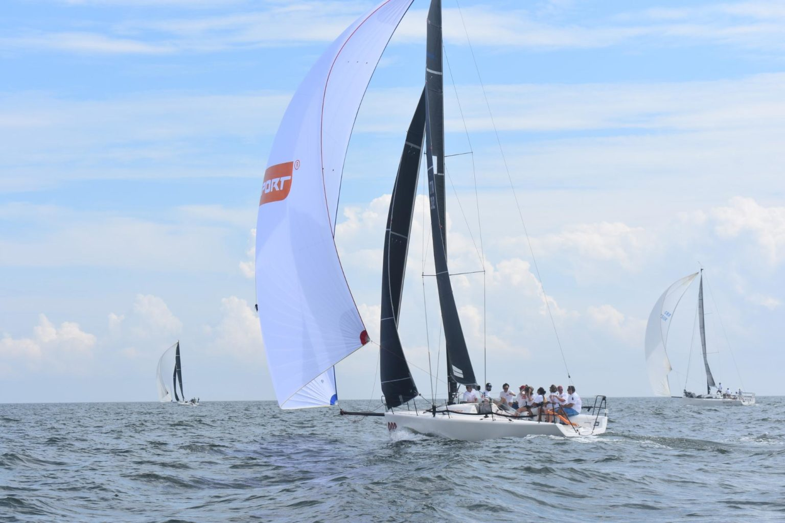 new club racing sail