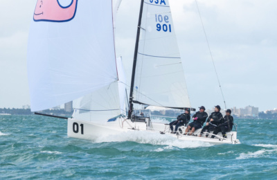 Baxters Prevail At The J/70 Midwinters thumbnail