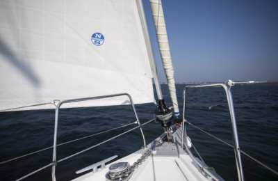 roller furling genoa north sails 3Di NORDAC