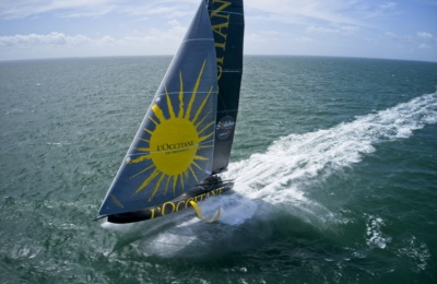 IMOCA L'Occitane en Provence Stands Out From The Fleet thumbnail