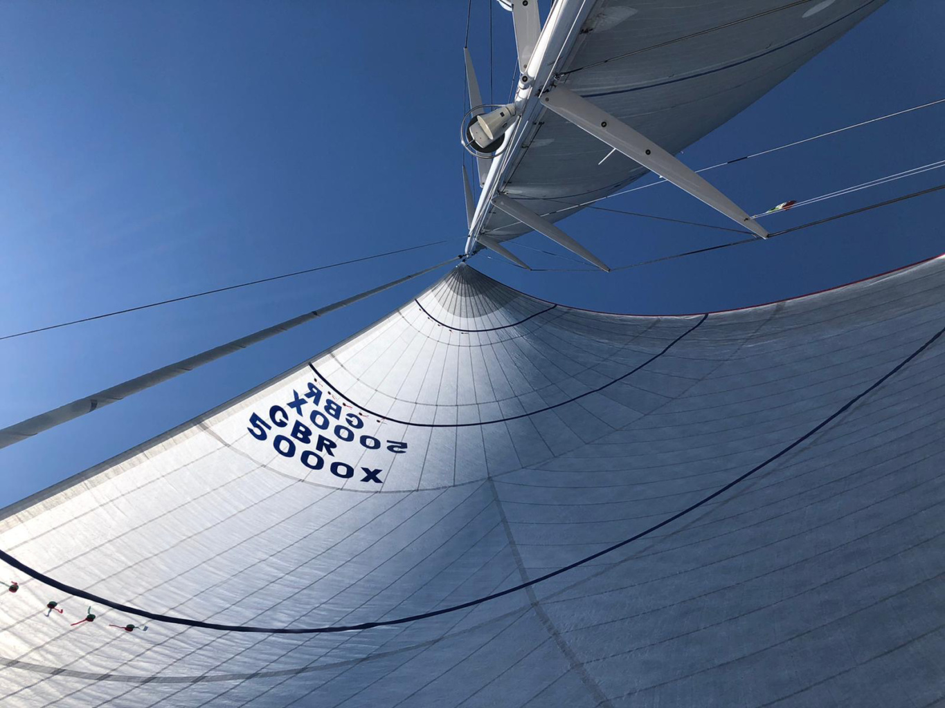 swan 78 kinina code zero NPL downwind north sails