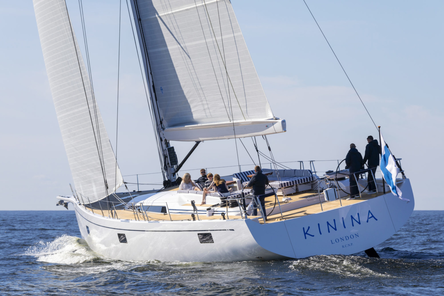 Swan 78 Kinina North Sails photo courtesy of Eva-Stina Kjellman 2018 / Nautor Swan