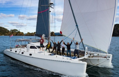 outremer 55 multihull Zephyr North Sails 3Di
