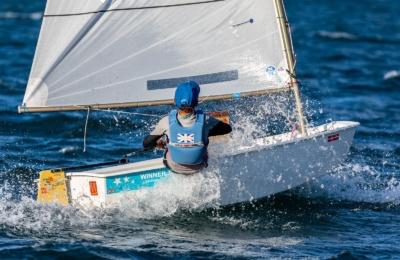 Sesto-Cosby Makes Waves in the Optimist Fleet thumbnail