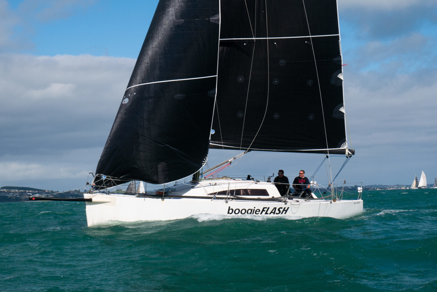 Boogie Flash NZL North Sails 3Di© Lissa Reyden