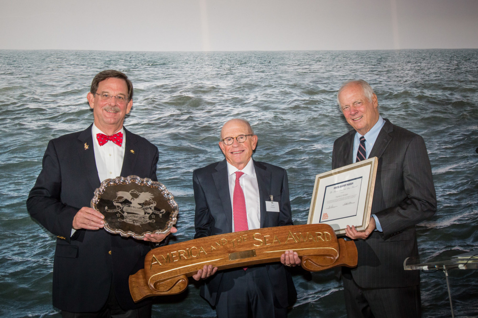 Tom Whidden, Mystic Seaport Award 2020