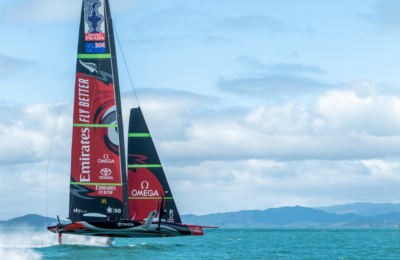 The America's Cup Heats Up in Auckland thumbnail