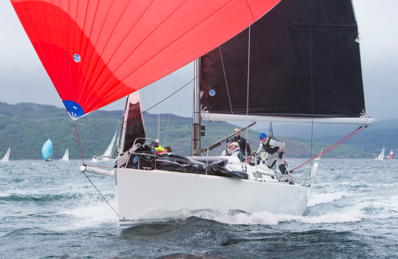 J/109 Chimaera, Andrew Craig, 3Di RAW, Ireland, Maurice O'Connell, North Sails