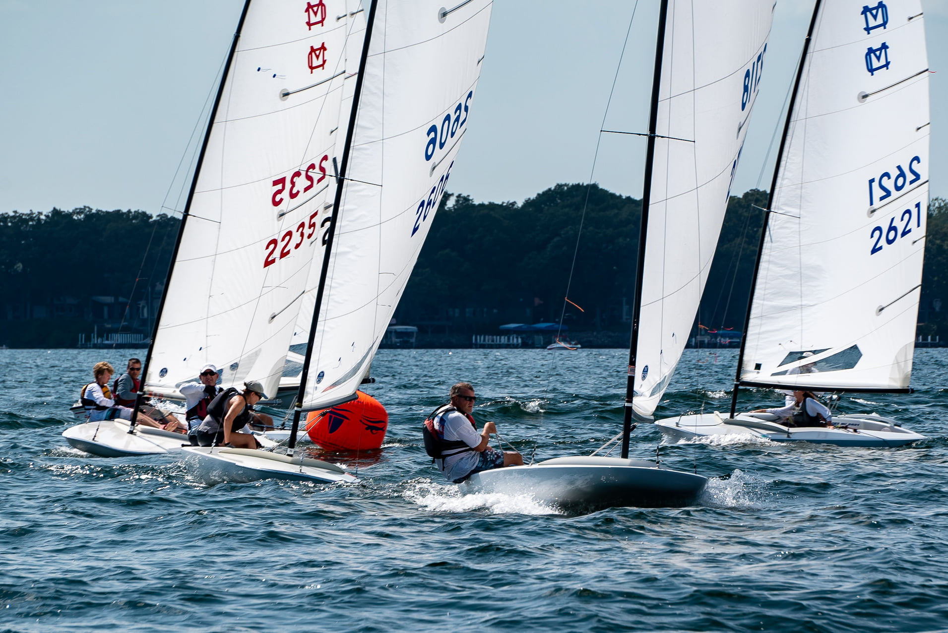 Podium sweep at the MC Scow Inlands