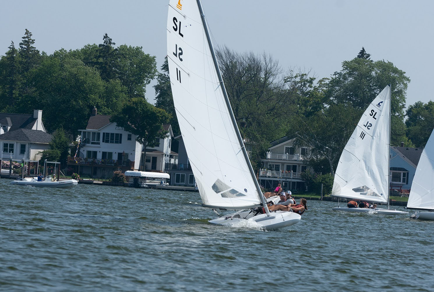 2021 C Scow National Champion powered by the North I-1 Gold mainsail